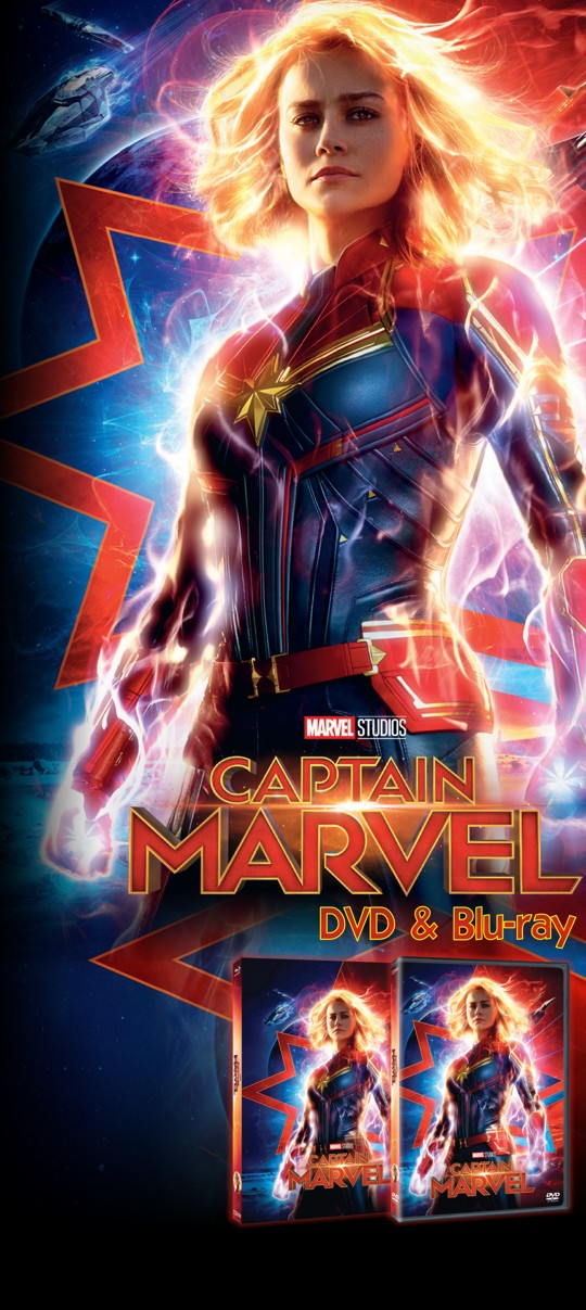 Captain Marvel na DVD a Blu-ray od 24.7.2019